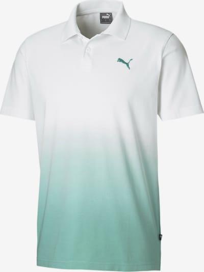 PUMA Functioneel shirt in de kleur Mintgroen / Wit, Productweergave