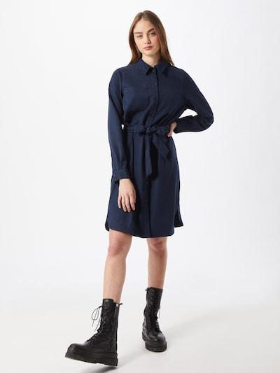 minimum Kleid in dunkelblau, Modelansicht