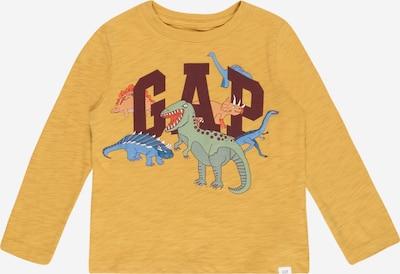 GAP T-shirt i ljusblå / senap / grön / orange / mörkröd, Produktvy