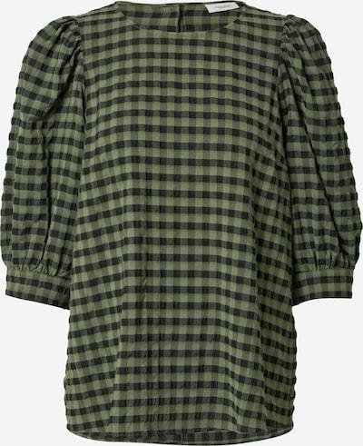 Bluză Marc O'Polo DENIM pe verde / negru, Vizualizare produs