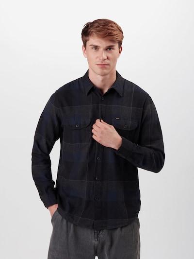 Lee Overhemd in de kleur Donkerblauw / Gemengde kleuren, Modelweergave