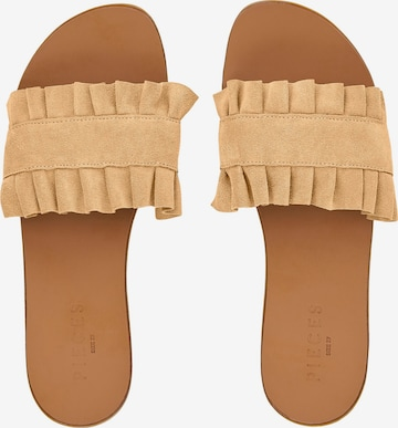 PIECES Pantolette 'Nynne' in Beige