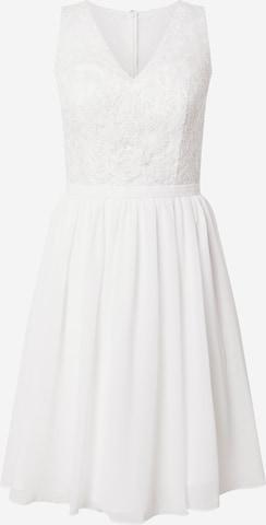 balta mascara Kokteilinė suknelė