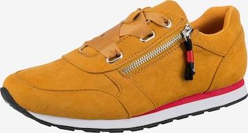 Inselhauptstadt Sneakers in Yellow