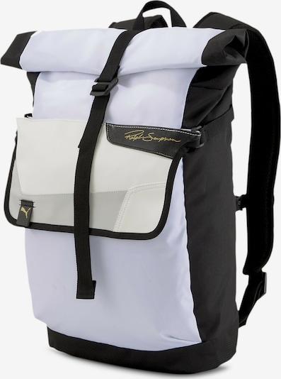 PUMA Sportrugzak 'Ralph Sampson' in de kleur Zwart / Wit, Productweergave