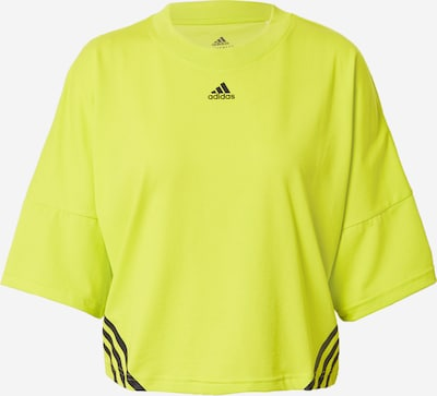 Tricou funcțional ADIDAS PERFORMANCE pe galben neon / negru, Vizualizare produs