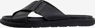 Bianco Leder Sandalen in schwarz, Produktansicht