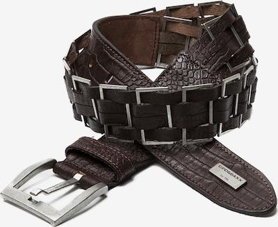 CIPO & BAXX Ledergürtel in dunkelbraun, Produktansicht