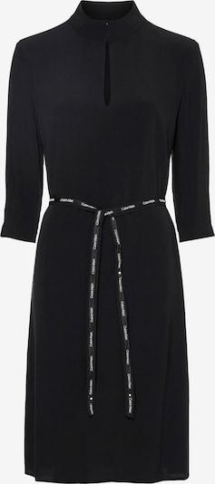 Calvin Klein Blusenkleid in schwarz / weiß, Produktansicht