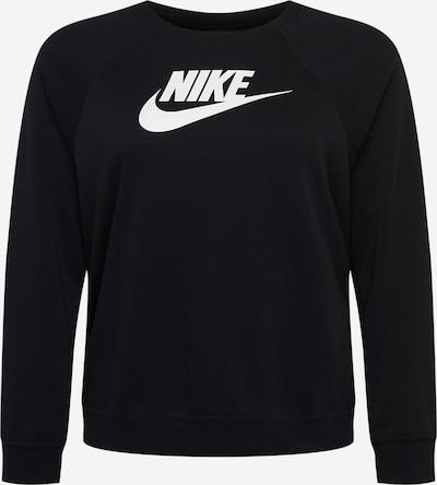 Nike Sportswear Sweatshirt in Black / White, Item view