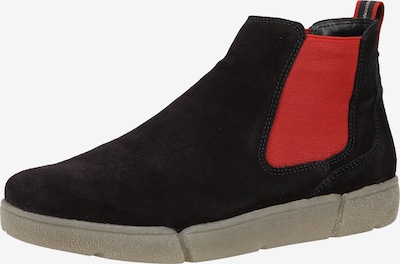 ARA Chelsea Boots in Taupe / Red / Black, Item view