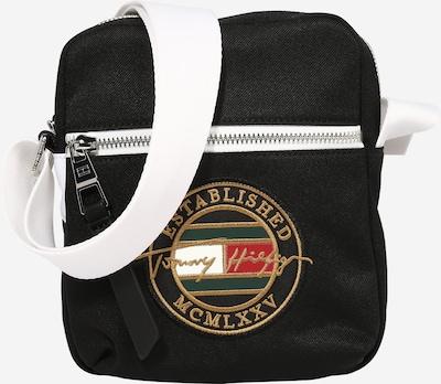 TOMMY HILFIGER Sac à bandoulière en or / vert / rouge / noir / blanc, Vue avec produit