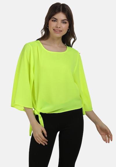 MYMO Bluse in neongelb, Modelansicht