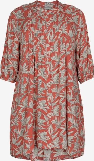 GOZZIP Tunika 'Kirsten' in grau / orange / weiß, Produktansicht