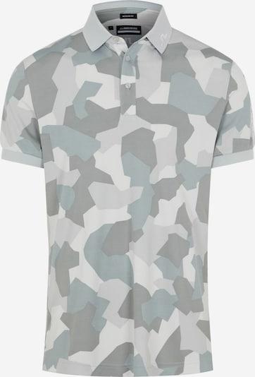 J.Lindeberg Functioneel shirt in de kleur Grijs / Greige / Lichtgrijs / Wit, Productweergave
