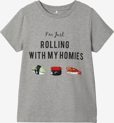 NAME IT T-Shirt in grau, Produktansicht
