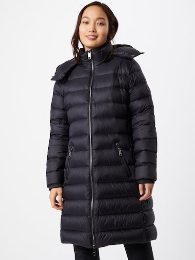 BOSS Casual Abrigo de invierno 'Pampana' en negro, Vista del modelo