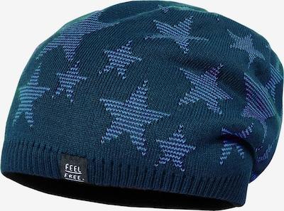 Megzta kepurė iš MAXIMO , spalva - mėlyna / dangaus žydra / tamsiai pilka, Prekių apžvalga