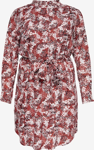 ONLY Carmakoma Kleid 'BANDI' in Rot