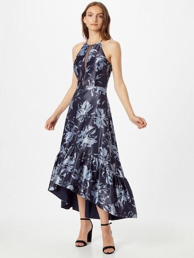 VM Vera Mont Kleid in hellblau / dunkelblau, Modelansicht