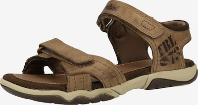 TIMBERLAND Sandale in dunkelbeige, Produktansicht
