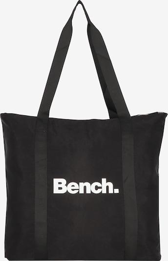 BENCH Shopper in schwarz / weiß, Produktansicht