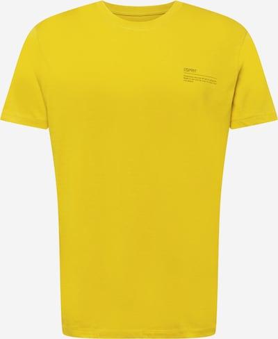 ESPRIT Shirt in limone / schwarz, Produktansicht