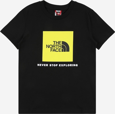 THE NORTH FACE Shirt 'SUMMIT' in gelb / schwarz / weiß, Produktansicht