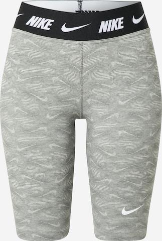 NIKESportske hlače - siva boja