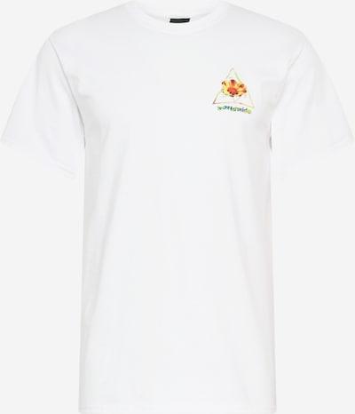 Marškinėliai 'COME DOWN' iš HUF , spalva - mišrios spalvos / balta, Prekių apžvalga