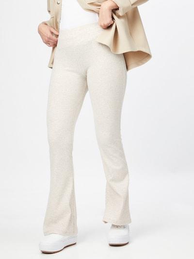 ONLY Broek 'NELLA' in de kleur Crème, Modelweergave