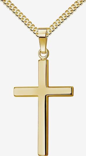 JEVELION Kette Kreuz in gelb, Produktansicht