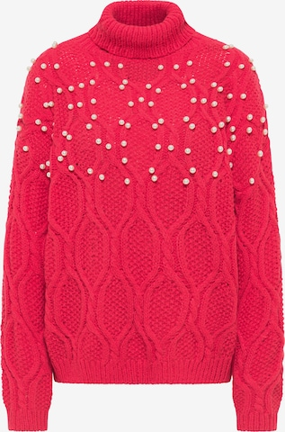 faina Sweater in Red