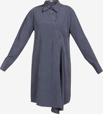 usha BLUE LABEL Blusenkleid in blau, Produktansicht