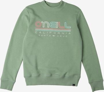 O'NEILL Sweatshirt 'All Year Crew' in Grün
