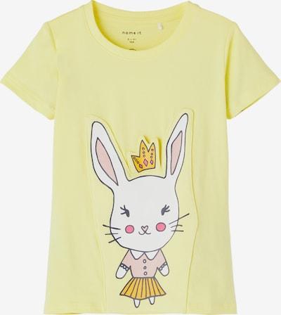 Tricou 'HELIA' NAME IT pe galben / portocaliu închis / roz / roz deschis / alb, Vizualizare produs