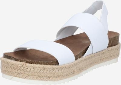 Sandalo con cinturino Madden Girl di colore bianco, Visualizzazione prodotti