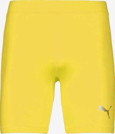 PUMA Trainingstight in gelb, Produktansicht