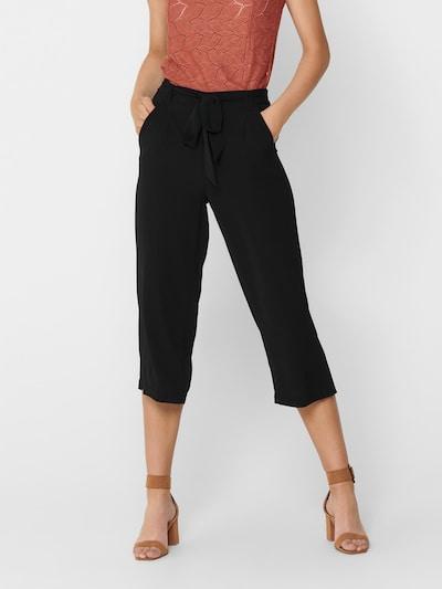 fekete ONLY Élére vasalt nadrágok 'Winner', Modell nézet