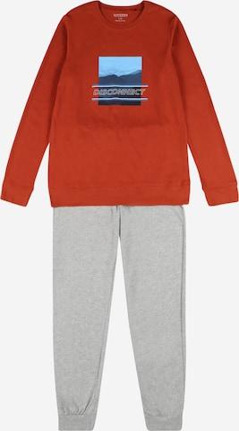 SCHIESSER Piżama w kolorze szary
