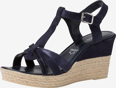 MARCO TOZZI Sandale in nachtblau, Produktansicht