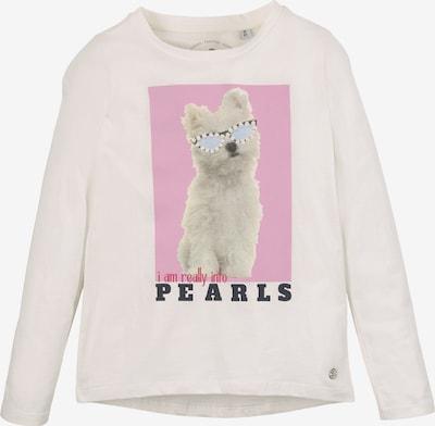 TOM TAILOR Shirt in pink / schwarz / weiß, Produktansicht