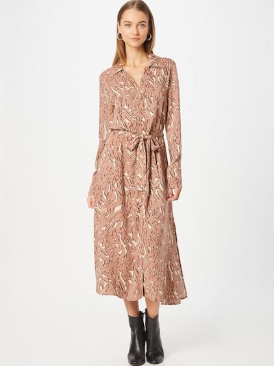 SOAKED IN LUXURY Blousejurk 'Avaleigh' in de kleur Oudroze / Zwart / Wit, Modelweergave
