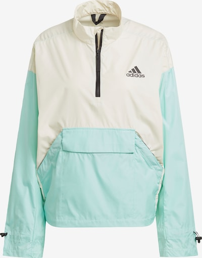 ADIDAS PERFORMANCE Funktionsjacke 'Back to Sport' in mint / weiß, Produktansicht