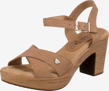 JANE KLAIN Sandalette in Beige