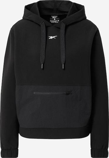 REEBOK Športna majica | črna barva, Prikaz izdelka
