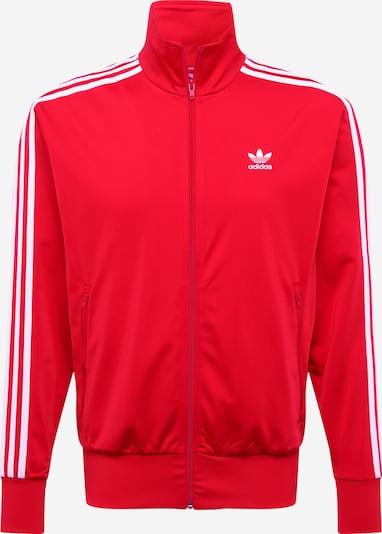 ADIDAS ORIGINALS Přechodná bunda - červená / bílá, Produkt