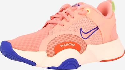 NIKE Urheilukengät 'SuperRep Go 2' värissä kuninkaallisen sininen / oranssi / lohi, Tuotenäkymä