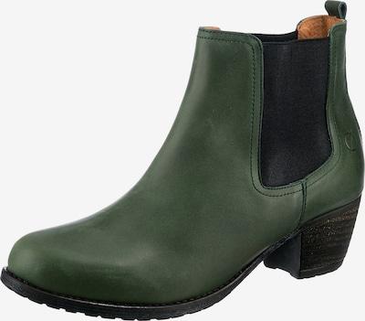 Paul Vesterbro Stiefelette in dunkelgrün / schwarz, Produktansicht