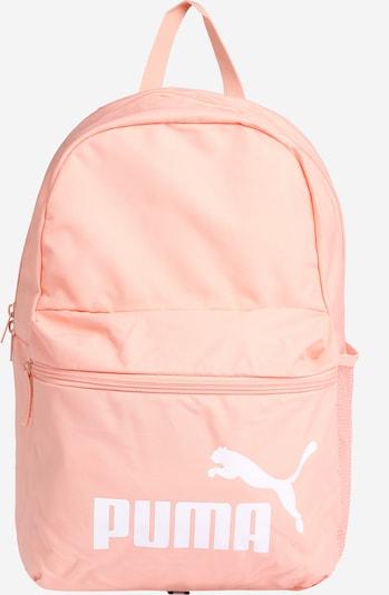 PUMA Plecak sportowy 'Phase' w kolorze morelowy / białym, Podgląd produktu